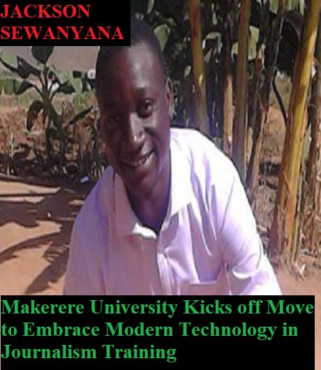 Multimedia Journalism and Digital training at Makerere University