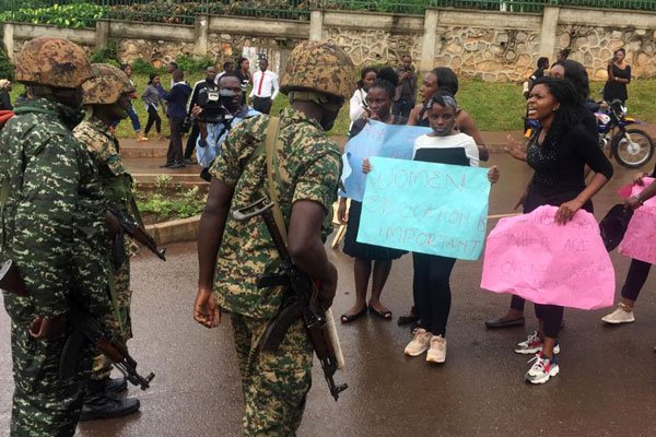 How Peaceful Makerere University Demonstration turned Bloody with Many Battered, others Suspended and 30 in police Custody
