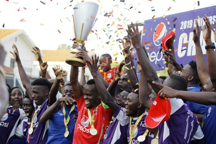 UCU wins 2019 University Football League Securing first Victory