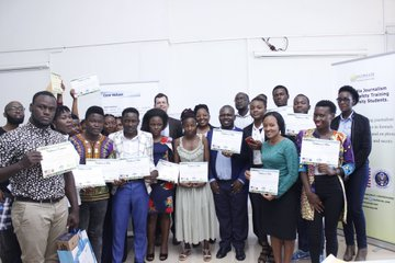 Stories by Cavendish University Students attending US Mission Supported Training in Multimedia Journalism and Digital Safety