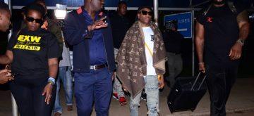 Wizkid in Uganda for #Dirty December concert