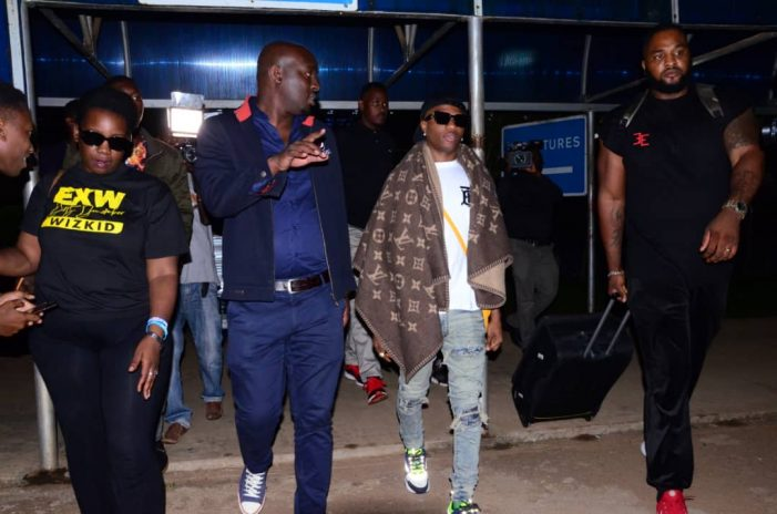 Wizkid in Uganda for #Dirty December concert