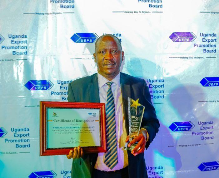Kampala International University (KIU) Wins the 2019 Presidential Export Award