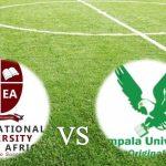 University Football League2020 Updates; International University of East Africa (IUEA) vs Kampala University (KU)