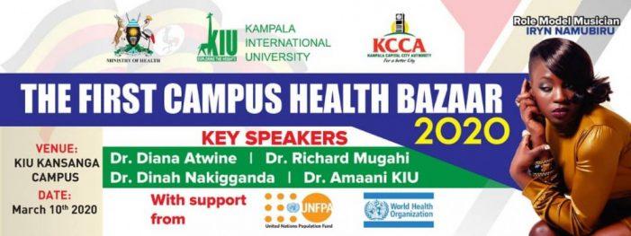 Kampala International University to Hold Peer Health Link Bazaar